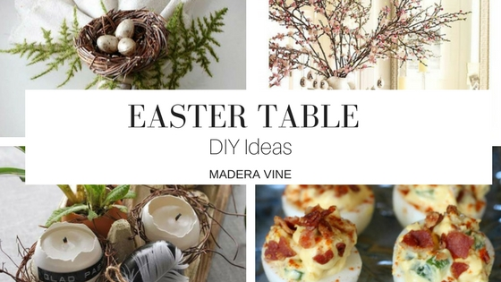 Easter Inspiration: DIY Table Setting Ideas