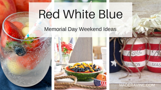 Red, White & Blue . . . It's Time To Celebrate!