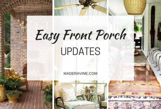 Easy Updates for Summer Porches