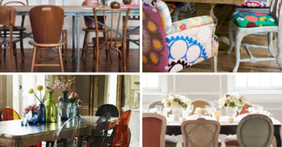 The Art of Mixing & Matching Dining Chairs
