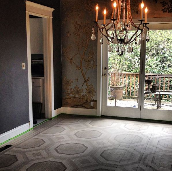 CodorDesign Painted Floor