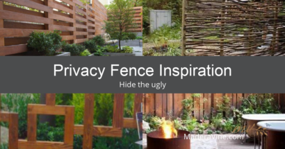 Privacy Fence Inspiration to Hide The Ugly