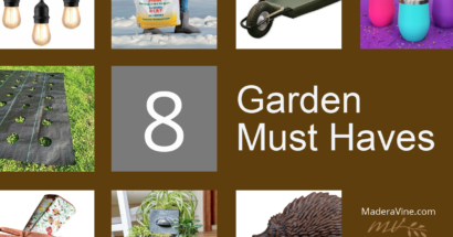 8 Must Have Garden Products