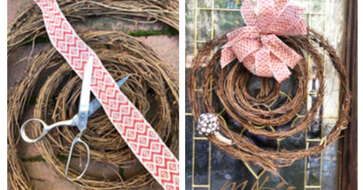DIY Gratitude Wreath for Less Than $7